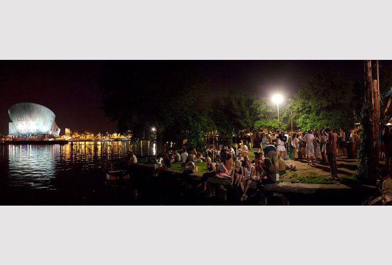 Het GeluidBuro Horeca en Evenementen Terras Hannekes Boom Amsterdam