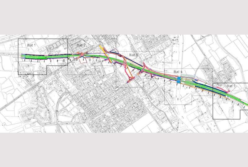Het GeluidBuro Bouw en aanleg infra Tunnelbak N31 Harlingen