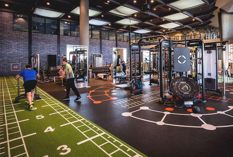 Het GeluidBuro Het GeluidBuro Sport en recreatie David Lloyd Sports Health Club Amsterdam