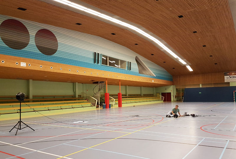 Het GeluidBuro Het GeluidBuro Sport en recreatie Gymzalen Zeist