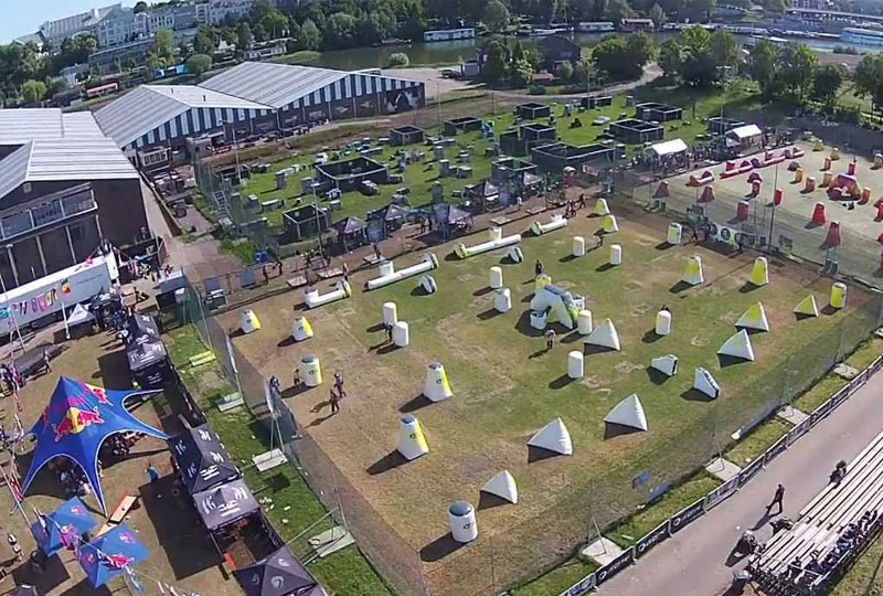 Het GeluidBuro Het GeluidBuro Sport en recreatie Paintballworld Arnhem