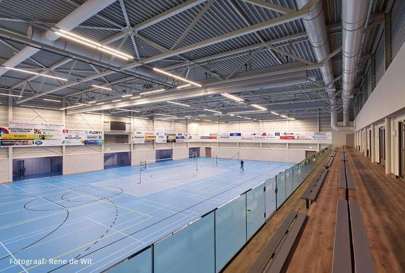 Het GeluidBuro Het GeluidBuro Sport en recreatie Sporthal Benedenveer Sliedrecht