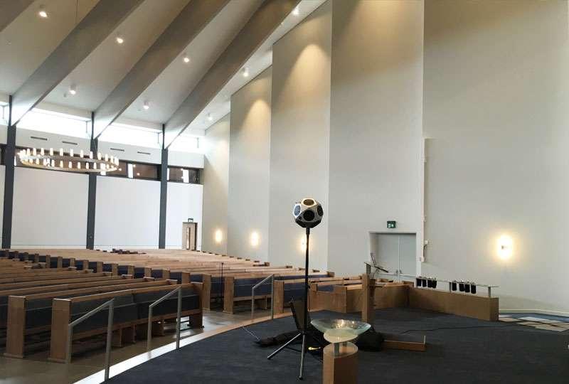 Het GeluidBuro Akoestiek kerkgebouwen GG Nieuw Beijerland