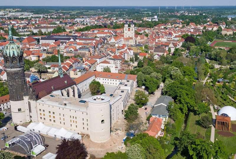 Het GeluidBuro Akoestiek kerkgebouwen Schlosskirche Wittenberg