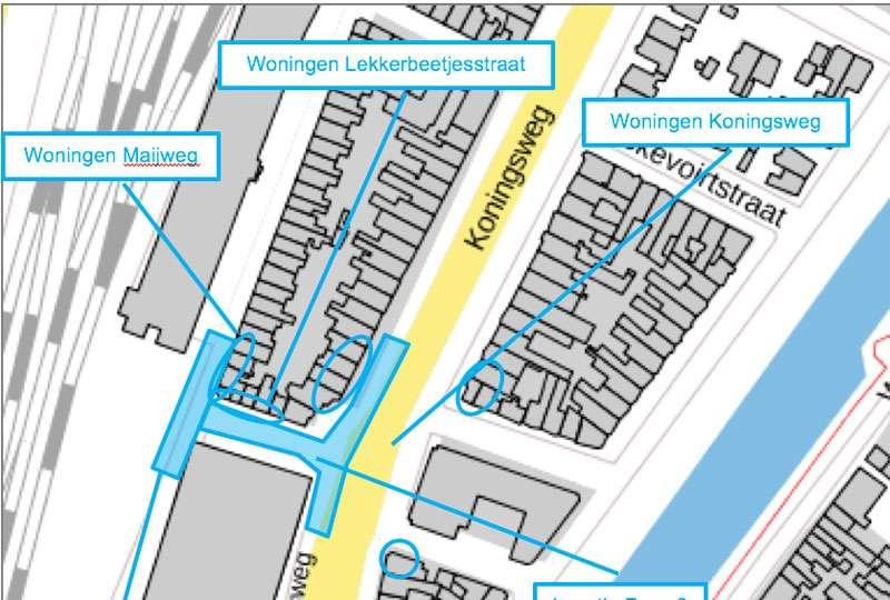 Het GeluidBuro Bouw en aanleg infra APV vergunning Lekkerbeetjesstraat DB